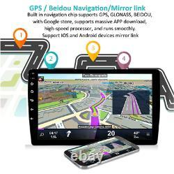 Android 9.1 Quad-core 10.1 2din Stéréo Radio Gps Gps Navi Wifi Usb Miroir Usb