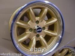 Capri Cortina Escort 8x15 Deep Dish Alloy Wheel Set Jbw Minilight Style, Ford