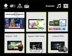 Car Stereo Radio Android 9.1 De 2 Go + 32 Go Gps Navi Bluetooth Wifi 3g / 4g Dab Obd 1din