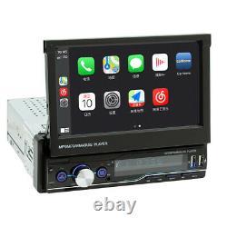 Écran Bluetooth Tactile 1din 7in Voiture Radio Stéréo Usb Aux Mirror Link Mp5 Player