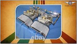 Ford 2l Pinto Escort Cortina Fajs Twin 45 Dcoe (weber) Kit Carburateur À Tirage Latéral
