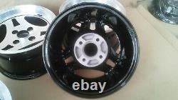 Ford Capri Authentique Ats 3 Spoke Rims Escort Cortina Taunus Fiesta Alloys Wheels