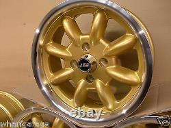 Ford Capri Cortina Escort6x15 Dish Alloy Wheel Set Jbw Minilight Style 15 X 6