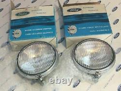 Ford Cortina Mk3/4/5/granada Mk1/escort Mk2 Nouvelles Lampes À Brouillard Ford Authentiques