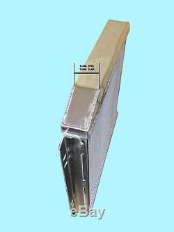 Ford Escort Mk 2, Cortina, Kit Voiture + 42mm En Aluminium Race Radiateur Royaume-uni Fait