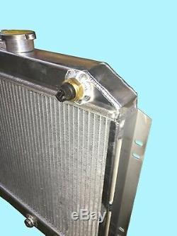 Ford Escort Mk1 / 2, Cortina 42mm Radiateur En Aluminium Uk Made