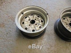 Ford Escort Mk2 Fasciée Steel Wheels. Paire 7,5 X 13. Cortina / Escorte