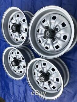 Ford Escort Mk2 Mk1 Mexique Rs2000 Rs1800 Cortina Gt Capri 13 Rs Roues D'acier