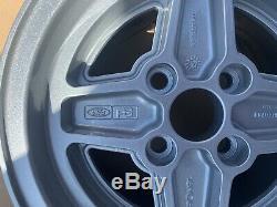 Ford Escort Ronal X Paquet 7x13 Roues Capri Fiesta Cortina Grenade Mk1 Mk2 Mk3