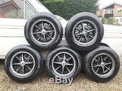 Ford Escort Roues En Alliage, Mega Rare, Exacton. Fit Anglia. Cortina