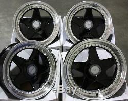 Jantes En Alliage X 4 17 B Dr-f5 Fits Ford Escort B Max Puma Sierra Ka Focus 4x108