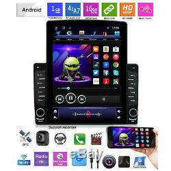 Lecteur Radio Bluetooth Car Stereo 10.1in 1din Android 8.1 Navigation Gps 4-core