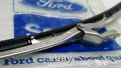 Mk1 Escort Mk1 Cortina Véritable Ford Nos Wiper Blade Et Le Soutien De La Paire D'assy