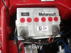 Neu Weiße Ford Escort Mk1mk2 Batterie Cortina Anglia Taunus Fiesta 54ah
