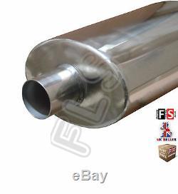 Performance Universal Inox Echappement Backbox Bk15071 Ford 1