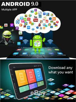 Quad-core Android 9.0 Gps Simple Din 10.1 Voiture Wifi Stereo Radio 1 Go De Ram Rom 16g
