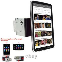 Rotatable 10.1po Android 9.1 Double Din 4-core Gps Wifi Car Stereo Mp5 Player Fm