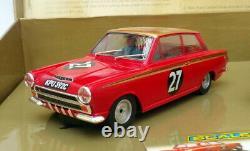 Scalextric 1/32 Échelle C2981a Ford Escort & Lotus Cortina Alan Mann Racing