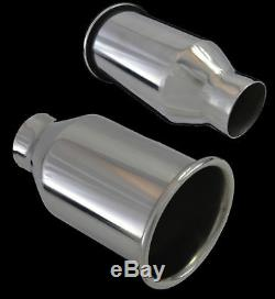 Universal Inox Echappement Tuyau D'échappement 2,25 / 4 Yfx-0915-4-ford 1