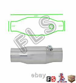 Universal T304 Stainless Sports Cat Catalytic Convertisseur 2,25 Pouces 200 Cell-frd1
