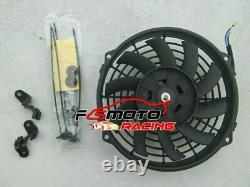 Ventilateur Radiateur Alu Pour Ford Escort 1600 Capri Mk2/mk3 Gecp Cortina Ohv 1.3/1.6/2.0