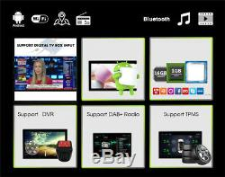 Voiture Bluetooth Sat Nav Système De Navigation Gps Chaîne Stéréo Radio Mp5 Android 9.1