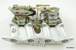 Weber Double 45 Dcoe Carburateur Kit Ford 2.0 / 2.1 Ohc Pinto Escort-capri-kitcar